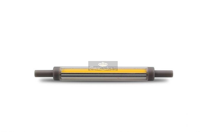 SLIM COB R7S LED 360grader 2700K 118xΦ12mm 10W Dimbar